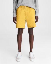 Rag & Bone Men's Eaton Shorts - Yellow