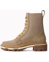 Rag & Bone Shiloh Combat Boot - Natural