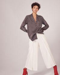 Rag & Bone Hahn Pyjama Shirt - Black