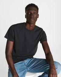 Rag & Bone Principle Base Tee Classic Fit T-shirt - Black