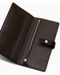 Rag & Bone Passenger Wallet - Nappa Leather Large Wallet - Black