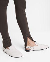 Rag & Bone Ansley Slide - Leather Slide With Adjustable Strap - Multicolour