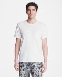 Rag & Bone Miles Principal Jersey Tee Classic Fit T-shirt - White