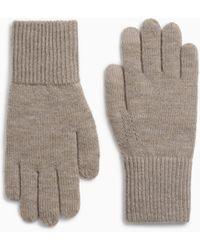 Rag & Bone Addison Merino Wool Gloves - Grey