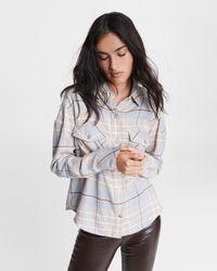 Rag & Bone Women's Cruz Shirt - Grey