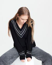 Rag & Bone Dianna Oversized Sweater - Black