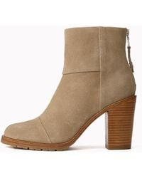 Rag & Bone Newbury 2.0 Boot - Suede Ankle Boot - Natural