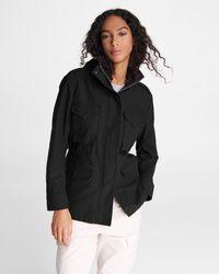 Rag & Bone M65 Field Cotton Jacket Relaxed Fit Jacket - Black