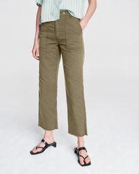 Rag & Bone Kaye Ankle Chino Trousers - Multicolour