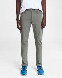 Rag & Bone Fit 2 - Barrel Grey Slim Fit Overdyed Light Green Aero Stretch Jean