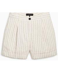 Rag & Bone Ivy High - Waist Shorts - White