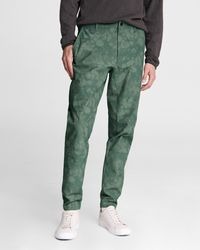 Rag & Bone Tech Articulated Cotton Chino Slim Fit Pant - Green