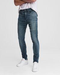 Rag & Bone Fit 1 - Wilson Skinny Fit Mid Indigo Authentic Stretch Jean - Blue