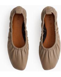 Rag & Bone Elly Flat - Leather Soft Ballet Flat - Multicolour