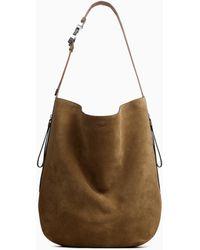Rag & Bone Riser Carryall - Suede Large Shoulder Bag - Multicolour