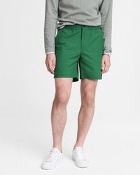 Rag & Bone Eaton Water Resistant Pull On Short Relaxed Fit Short - Green