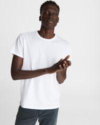Rag & Bone Organic Cotton-jersey T-shirt - White