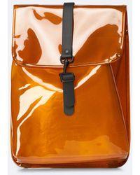 Rains Rucksack - Orange