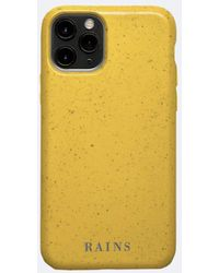 Rains Iphone 11 Pro Cover - Yellow