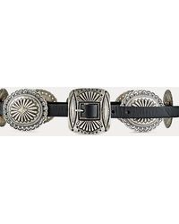 Polo Ralph Lauren Engraved-concho Belt - Black