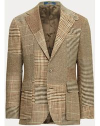 Polo Ralph Lauren Chaqueta Rl67 De Tweed De Patchwork - Multicolor