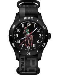 Polo Ralph Lauren Polo Sport Watch Black Dial