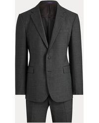 Ralph Lauren RLX Anzug Gregory aus Wolltwill - Grau