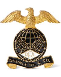 RRL Eagle Pin - Metallic