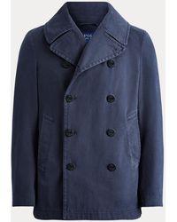 Polo Ralph Lauren Caban teint en pièce - Bleu