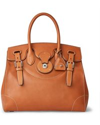 Ralph Lauren Calfskin Light Ricky 33 - Brown