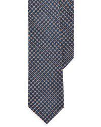 Polo Ralph Lauren Neat Linen Narrow Tie - Blue
