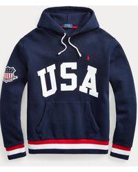 Polo Ralph Lauren Kapuzenshirt USA - Blau