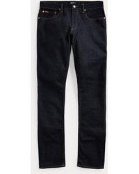 Polo Ralph Lauren Slim-Fit Jeans Sullivan mit Polo - Blau