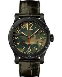Ralph Lauren 39mm Chronometer Steel - Multicolor