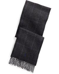 Polo Ralph Lauren - Écharpe réversible laine mélangée - Lyst