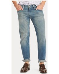 Polo Ralph Lauren Jeans Hampton Relaxed Straight - Blu