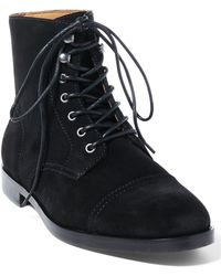 Polo Ralph Lauren Daley Suede Boot - Black