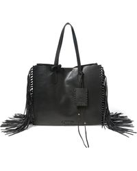 Polo Ralph Lauren - Fringed Leather Tote - Lyst