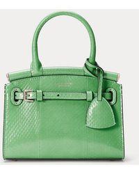 Ralph Lauren Minibolso Rl50 De Piel Ayers - Verde