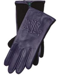 Pink Pony - Two-tone Touch Screen Gloves - Lyst