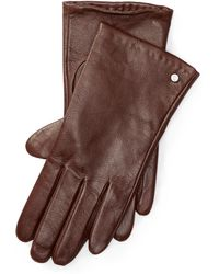 Pink Pony - Leather Touch Screen Gloves - Lyst