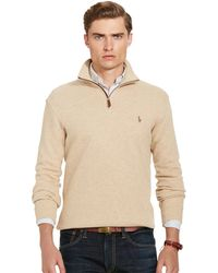 Polo ralph lauren Estate Rib Cotton Pullover Sweater in Natural ...