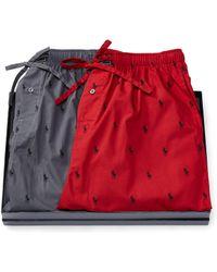 Polo Ralph Lauren Pony Sleep Pant Gift Set - Red