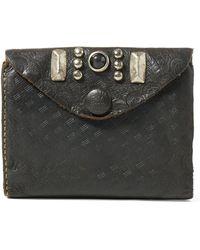 RRL - Leather Envelope Coin Wallet - Lyst