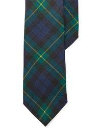 Polo Ralph Lauren | Tartan Linen Narrow Tie | Lyst