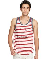Denim & Supply Ralph Lauren | Striped Cotton Jersey Tank | Lyst