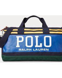Polo Ralph Lauren Reisetasche Polo aus Segeltuch - Blau