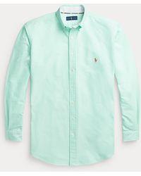 Ralph Lauren Camisa Oxford Icónica - Verde