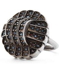 Ralph Lauren - Art Deco Crystal Ring - Lyst