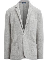 Polo Ralph Lauren - Felted Wool-blend Cardigan - Lyst